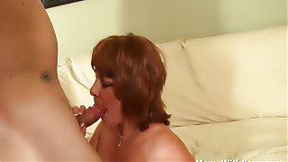 Horny Mature Calliste Sex Affair With Young Neighbor