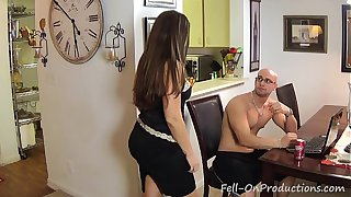 Madisin Lee in I Have Something for That. Son fucks mom doggy style cums on her