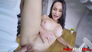 Big Tits Latina MILF Step Mom Fucked By Step Son In Kitchen POV