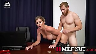 Son Abuses Hot Blonde Mom – Cory Chase The New Wife