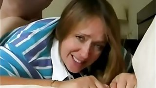Stepmom Whore - mommy likes to take it in all holes