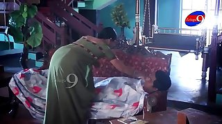 Mahi aunty tempting to young boy in her house - YouTube.MP4