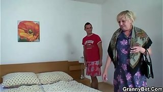 Old women and the young boy sex