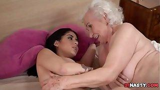 Granny Norma Hairy Pussy