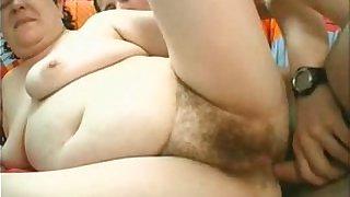 Fat Horny Hairy Granny
