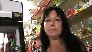 mom and son sex the shoping