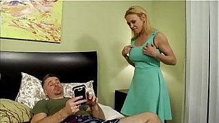Son blackmails mom and fucks her in the ass
