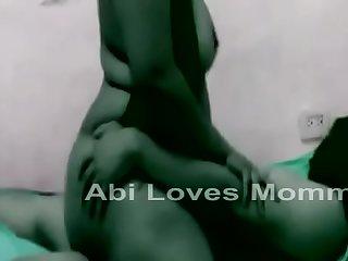 Abinav and Mommy