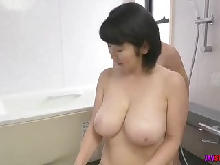 son caught his busty mother masturbating