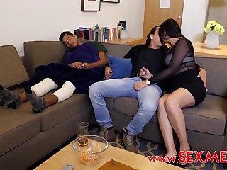 I FUCKED MY SEXY &_ HORNY FRIEND'_S BUSTY MOM WHILE HE'_S SLEEPING