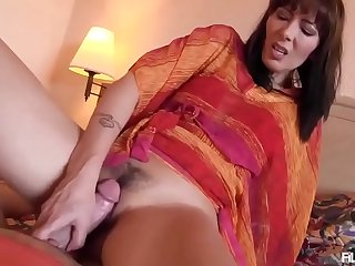 Mom fucks her son  POV