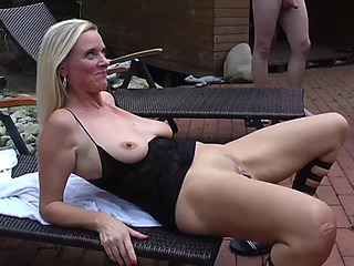 Creampie outdoor groupsex