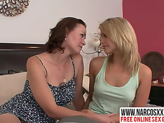 Boastful not mother enjoys most excellent lesbo sex